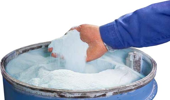 ブラスト加工の脱脂工程を省略できるクリーニング剤(脱脂洗浄剤)